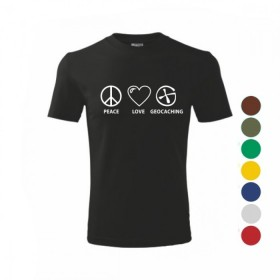 T-shirt - PEACE LOVE
